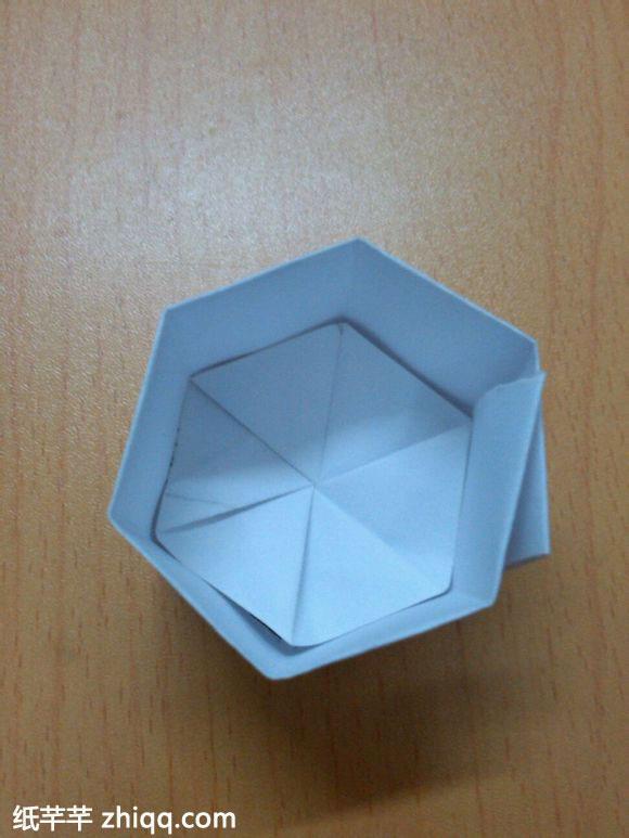 小笔筒折纸教程图解