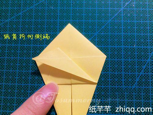 天使鱼折纸图解教程