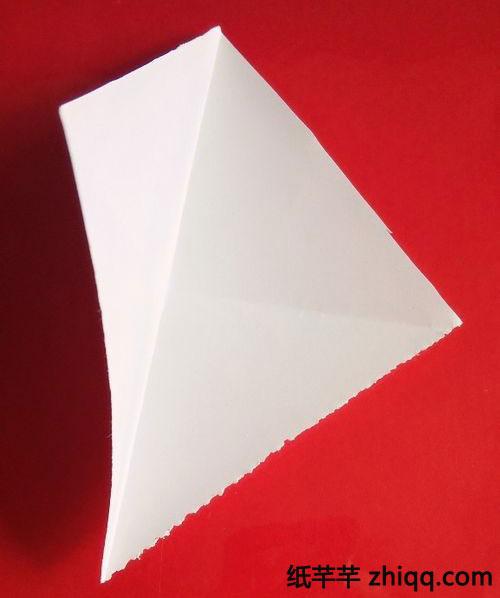 【四角对叠】剪纸方法步骤