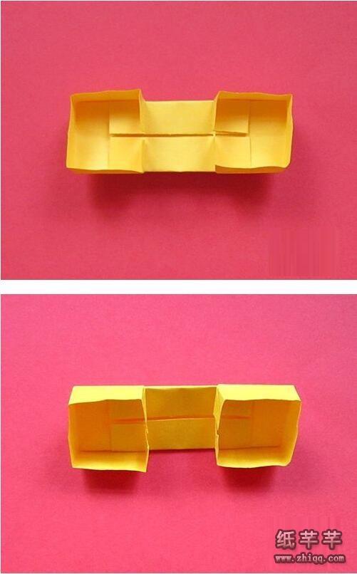 幼儿简易【折纸电话】步骤图