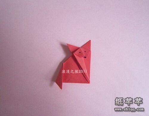 【狐狸折纸】简单的图解步骤