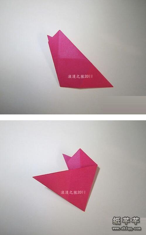 折纸五瓣花步骤图解_【五瓣花剪纸】的剪法步骤教程-纸千千