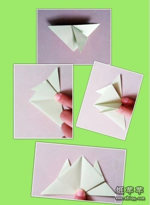 会跳的【纸青蛙】的折法图解