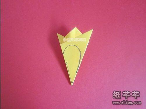 【迎春花】图片剪纸手工步骤