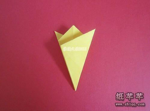【五折窗花剪纸】步骤图解教程