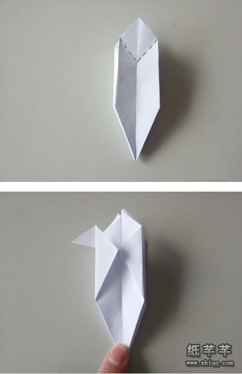 怎样【折纸火箭】图解方法