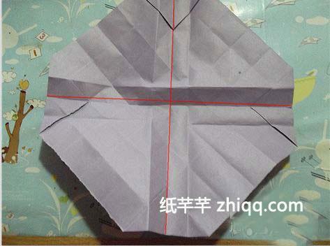 折纸简单袋子步骤图