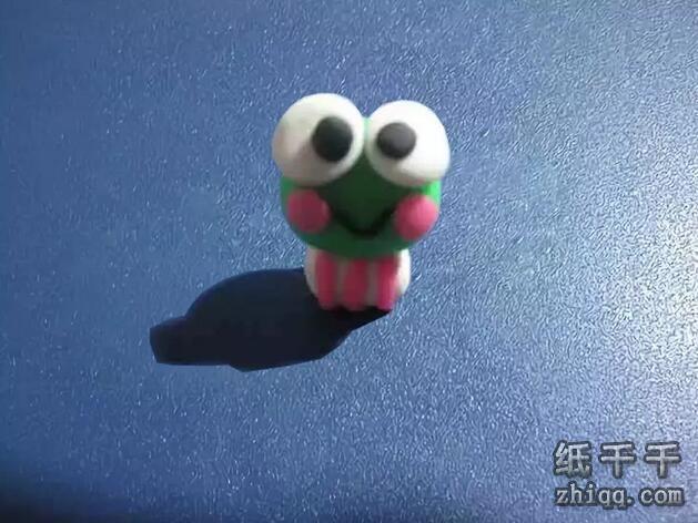 橡皮泥【小青蛙】手工教学