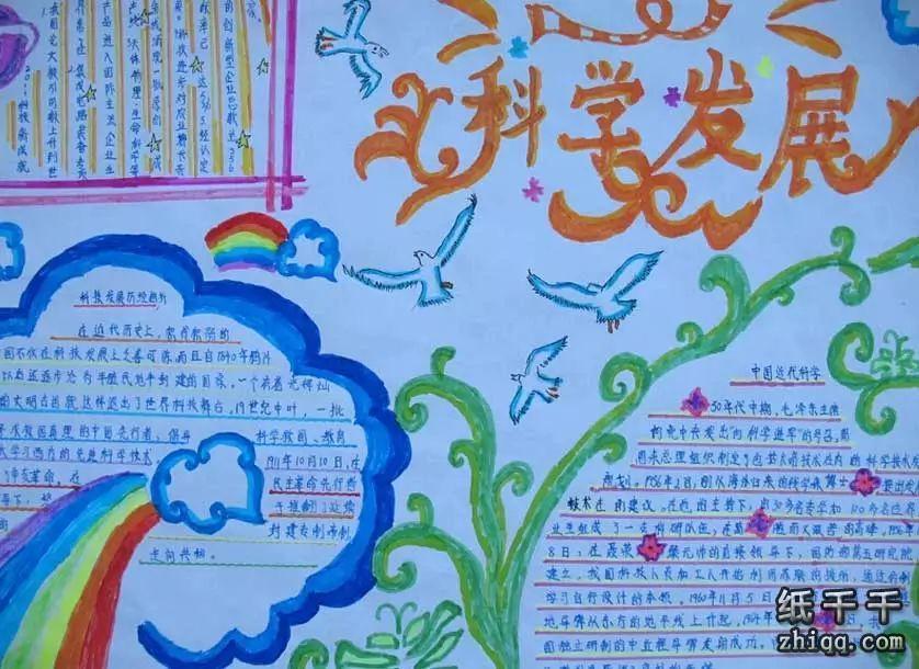 中国地图手抄报图片